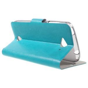 Horse peněženkové pouzdro na mobil Acer Liquid Z530 - modré - 3