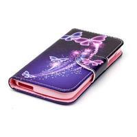 Luxy peněženkové pouzdro na Acer Liquid Z530 - kouzelní motýlci - 3/6