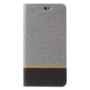 Klopové pouzdro na mobil Acer Liquid Z630 - šedé - 3