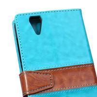 Lines pouzdro na mobil Acer Liquid Z630 - modré - 3/7