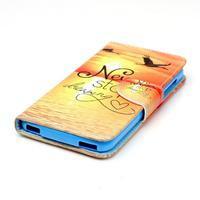 Peněženkové pouzdro na mobil Acer Liquid Z630 - nepřestávej snít - 3/6