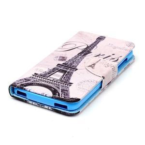 Peněženkové pouzdro na mobil Acer Liquid Z630 - Eiffelova věž - 3