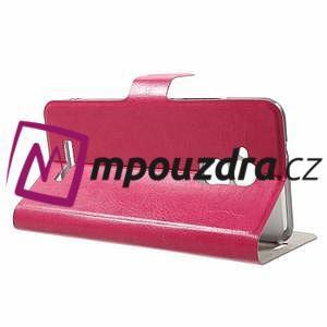 Horse PU kožené pouzdro na Asus Zenfone 3 Max ZC520TL - rose - 3