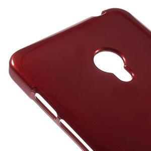 Tmavě červený gelový obal na Asus Zenfone 5 - 3