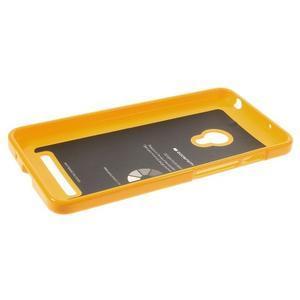 Gelový obal na Asus Zenfone 5 - Žlutý - 3