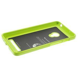 Gelový obal na Asus Zenfone 5 - zelený - 3