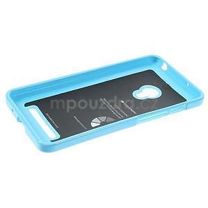 Gelový obal na Asus Zenfone 5 - světle modrý - 3