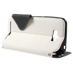 Diary peněženkové pouzdro s okýnkem na Asus Zenfone Max - bílé - 3