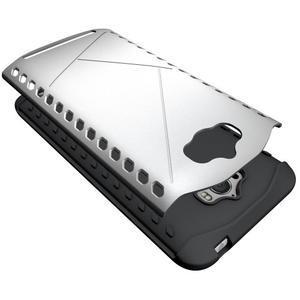 Odolný kryt na mobil Asus Zenfone Max - stříbrný - 3