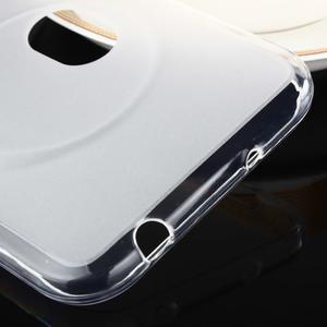 Gelový matný obal na mobil Asus Zenfone Zoom - bílý - 3