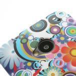 Plastový kryt na HTC One M7 - květy - 3/3