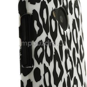 Plastový kryt na HTC One M7 - leopard - 3