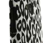 Plastový kryt na HTC One M7 - leopard - 3/5