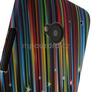 Plastový kryt na HTC One M7 - meteor - 3
