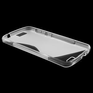 Gelový kryt S-line Huawei Ascend G7 - transparentní - 3