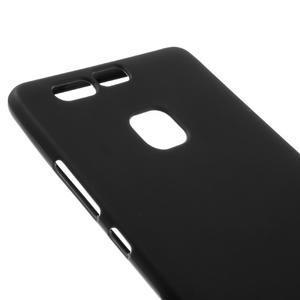 Trend matný gelový obal na mobil Huawei P9 - černý - 3