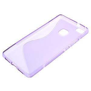 S-line gelový obal na mobil Huawei P9 Lite - fialový - 3