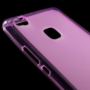 Matný gelový obal na mobil Huawei P9 lite - rose - 3