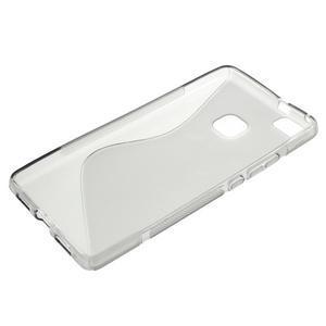 S-line gelový obal na mobil Huawei P9 Lite - šedý - 3