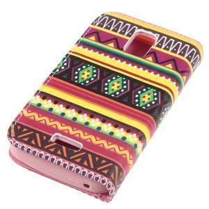 Peněženkové pouzdro na mobil Huawei Y3 a Y360 - tribal - 3
