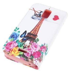Peněženkové pouzdro na mobil Huawei Y3 a Y360 - Eiffelova věž - 3