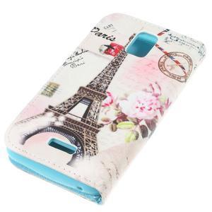 Peněženkové pouzdro na mobil Huawei Y3 a Y360 - Eiffelka - 3