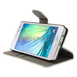 Stylové klopové pouzdro na Samsung Galaxy A3 - Eiffel - 3