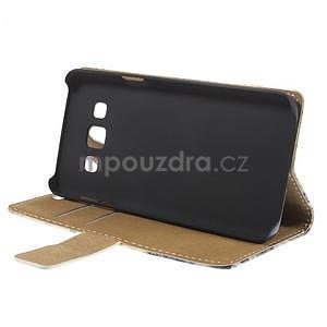 Peněženkové pouzdro na Samsung Galaxy A3 - Šikmá věž - 3