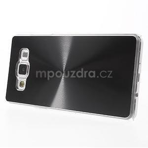 Černý metalický kryt na Samsung Galaxy A5 - 3