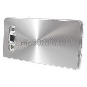 Stříbrný metalický kryt na Samsung Galaxy A5 - 3