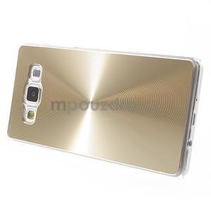 Zlatý metalický kryt na Samsung Galaxy A5 - 3