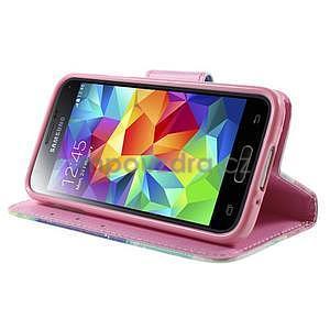 Zapínací peněženkové pouzdro na Samsung Galaxy S5 mini - snění - 3