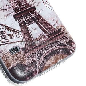 Ultra tenký gelový obal Samsung Galaxy S5 mini - Eiffel - 3