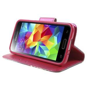 Zapínací peněženkové pouzdro na Samsung Galaxy S5 mini - oko - 3
