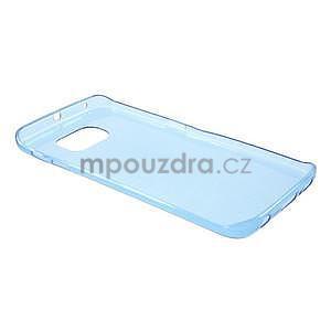 Modrý ultra slim obal na Samsung Galaxy S6 Edge - 3