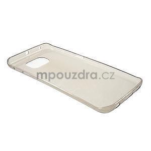 Šedý ultra slim obal na Samsung Galaxy S6 Edge - 3