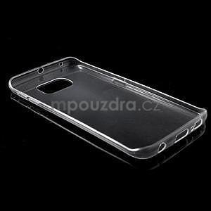 Transparentní ultra slim obal na Samsung Galaxy S6 Edge - 3