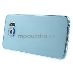 Ultra tenký obal na Samsung Galaxy S6 - modrý - 3