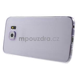 Ultra tenký obal na Samsung Galaxy S6 - fialový - 3