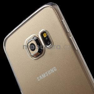Transparentní hybridní gelový obal na Samsung Galaxy S6 Edge - 3