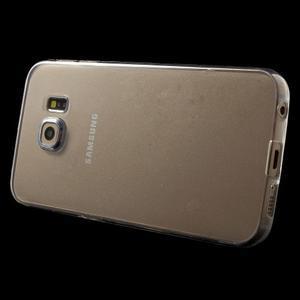 Ultra tenký gelový obal na Samsung Galaxy S6 Edge - tranparentní - 3