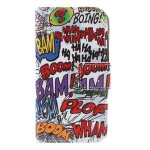 Styles peněženkové pouzdro na mobil Lenovo A319 - graffiti - 3