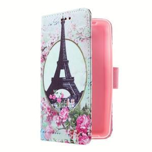 Peněženkové pouzdro na mobil Lenovo A319 - Eiffelova věž - 3