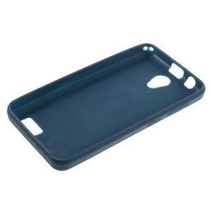 Vroubkovaný gelový obal na mobil Lenovo A319 - tmavěmodrý - 3