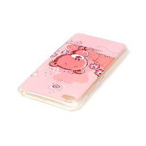 Glossy gelový obal na mobil Lenovo S90 - medvídek - 3