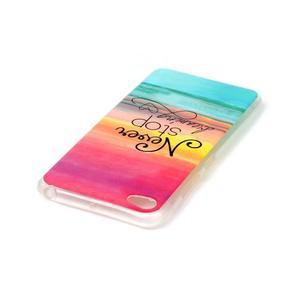Glossy gelový obal na mobil Lenovo S90 - nepřestávej snít - 3