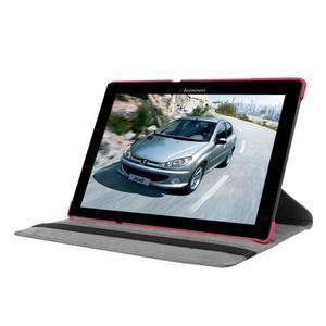 Pouzdro s otočnou funkcí na tablet Lenovo Tab 2 A10-70 - rose - 3