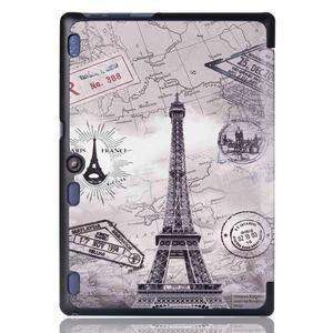 Polohovatelné pouzdro na tablet Lenovo Tab 2 A10-70 - Eiffelova věž - 3