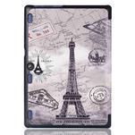 Polohovatelné pouzdro na tablet Lenovo Tab 2 A10-70 - Eiffelova věž - 3/6