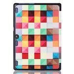 Polohovatelné pouzdro na tablet Lenovo Tab 2 A10-70 - barevné kostky - 3/6